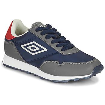 Zapatos Niños Zapatillas bajas Umbro KARTS LACE Gris / Azul