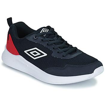 Zapatos Niños Zapatillas bajas Umbro LAGO LACE Azul / Rojo