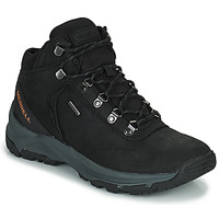 Zapatos Hombre Senderismo Merrell ERIE MID LTR WP Negro