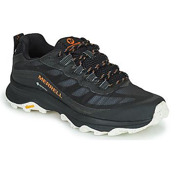 Zapatos Hombre Senderismo Merrell MOAB SPEED GTX Negro