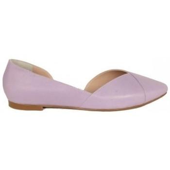 Zapatos Mujer Bailarinas-manoletinas Top3 SALON PLANO ABIERTO LATERAL Violeta