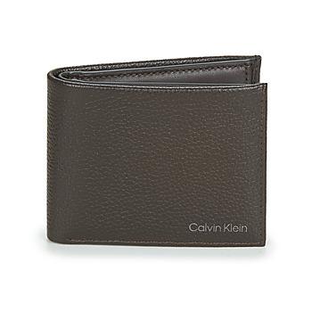 Bolsos Hombre Cartera Calvin Klein Jeans WARMTH BIFOLD 5CC W/COIN Marrón