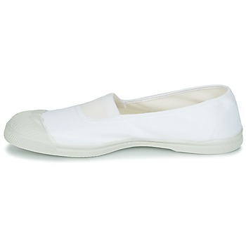 Bensimon TENNIS ELASTIQUE Blanco