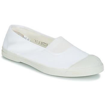 Zapatos Mujer Bailarinas-manoletinas Bensimon TENNIS ELASTIQUE Blanco
