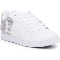 Zapatos Mujer Zapatillas bajas DC Shoes DC Court Graffik 300678-TRW blanco