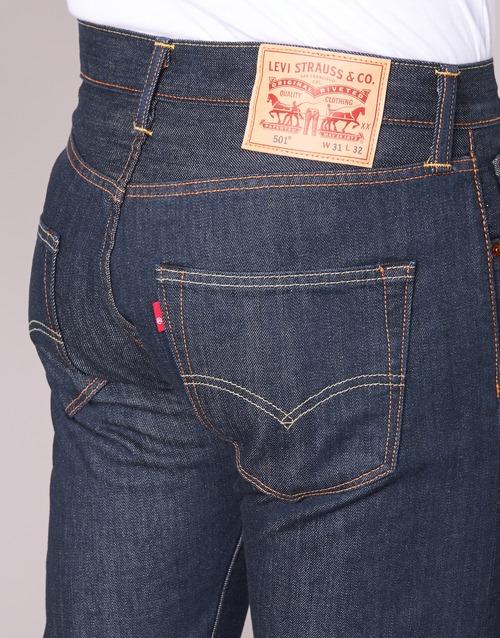 Fit Vaqueros Rectos Original Levis Hombre Levi's 501 Textil mn0v8wN
