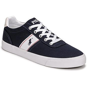Zapatos Zapatillas bajas Polo Ralph Lauren HANFORD RECYCLED CANVAS Marino