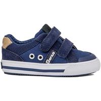 Zapatos Hombre Zapatillas bajas Gorila LONAS CANVAS VELCRO MARINO Azul