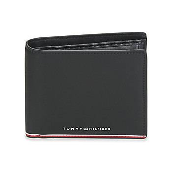 Bolsos Hombre Cartera Tommy Hilfiger TH COMMUTER EXTRA CC AND COIN Negro
