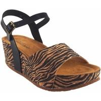 Zapatos Mujer Sandalias Isteria Sandalia señora   21045 cebra Multicolor