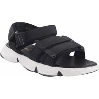 Zapatos Niña Sandalias de deporte Bubble Bobble Sandalia niña  a3289 negro Negro