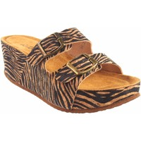 Zapatos Mujer Zuecos (Mules) Isteria Sandalia señora   21046 cebra Multicolor