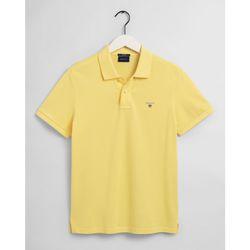 textil Hombre Polos manga corta Gant Polo piqué Original Amarillo