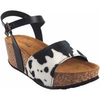 Zapatos Mujer Sandalias Isteria Sandalia señora   21039 bl.neg Multicolor