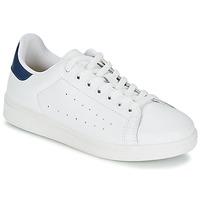 Zapatos Hombre Zapatillas bajas Yurban SATURNA Blanco / Marino