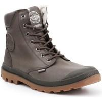 Zapatos Hombre Zapatillas altas Palladium Manufacture Pampa HI Grises