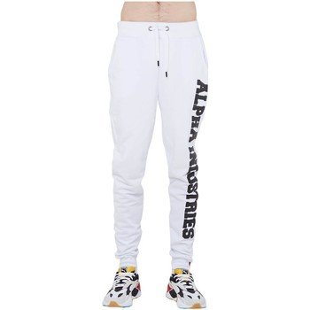 textil Hombre Pantalones de chándal Alpha Big Letters Jogger Blanco