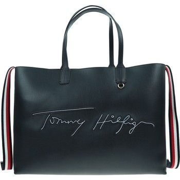 Bolsos Mujer Bolso Tommy Hilfiger Iconic Tommy Tote Negros