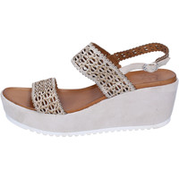Zapatos Mujer Sandalias Femme Plus BJ892 Beige