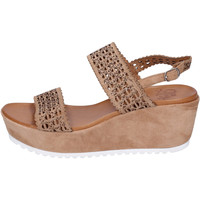 Zapatos Mujer Sandalias Femme Plus BJ895 Marrón