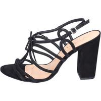 Zapatos Mujer Sandalias Vicenza BJ910 Negro