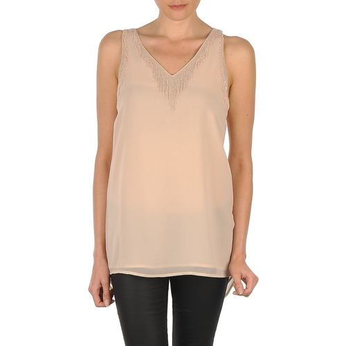 textil Mujer Camisetas sin mangas Vero Moda PEARL SL LONG TOP Rosa