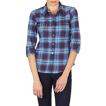 textil Mujer Camisas Vero Moda MEW LS SHIRT TN WALL Azul