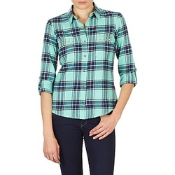 textil Mujer Camisas Vero Moda MEW LS SHIRT TN WALL Verde