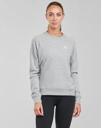 textil Mujer Sudaderas Nike NIKE SPORTSWEAR ESSENTIAL Gris / Blanco