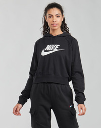 textil Mujer Sudaderas Nike NIKE SPORTSWEAR ESSENTIAL Negro / Blanco