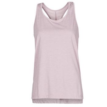 textil Mujer Camisetas sin mangas Nike NIKE YOGA Violeta