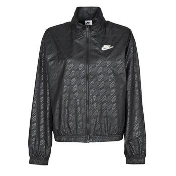 textil Mujer Cortaviento Nike W NSW WVN GX JKT FTRA Negro / Blanco