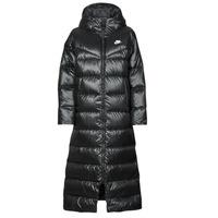 textil Mujer Plumas Nike W NSW TF CITY HD PARKA Negro / Blanco