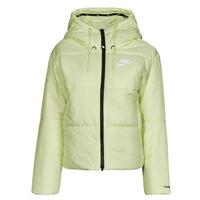 textil Mujer Plumas Nike W NSW TF RPL CLASSIC TAPE JKT Verde / Negro / Blanco
