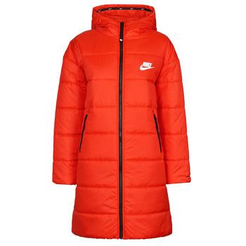 textil Mujer Plumas Nike W NSW TF RPL CLASSIC HD PARKA Rojo / Negro / Blanco