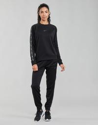 textil Mujer Pantalones de chándal Nike W NSW PK TAPE REG PANT Negro