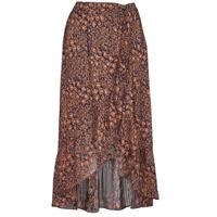 textil Mujer Faldas Betty London PAOLA Marino / Ocre