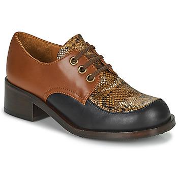 Zapatos Mujer Mocasín Chie Mihara TUDU Marrón / Negro