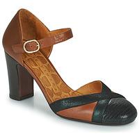 Zapatos Mujer Zapatos de tacón Chie Mihara WABE Camel / Negro