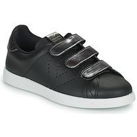 Zapatos Mujer Zapatillas bajas Victoria HUELLAS  TIRAS Negro