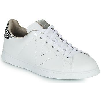 Zapatos Mujer Zapatillas bajas Victoria TENIS VEGANA/ GALES Blanco / Gris