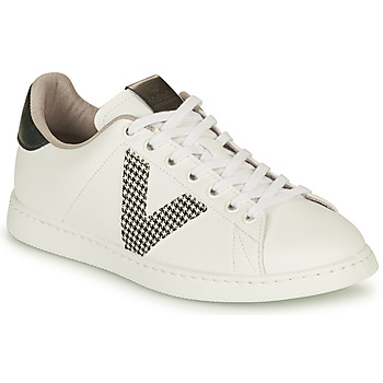 Zapatos Mujer Zapatillas bajas Victoria TENIS VEGANA GAL Blanco / Gris