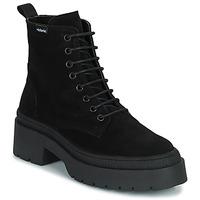 Zapatos Mujer Botas de caña baja Victoria CIELO SERRAJE Negro