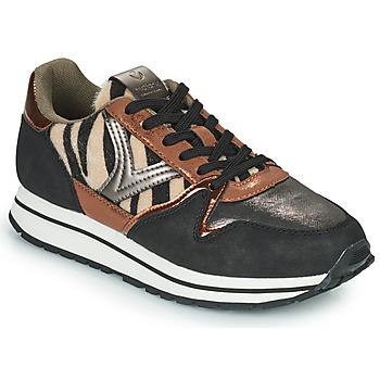 Zapatos Mujer Zapatillas bajas Victoria COMETA MULTI Negro / Marrón