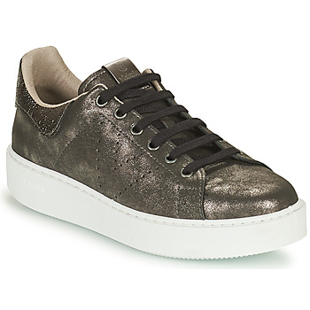 Zapatos Mujer Zapatillas bajas Victoria UTOPIA METAL GLITTER Gris