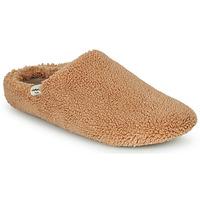 Zapatos Mujer Pantuflas Victoria NORTE BORREGUITO Beige