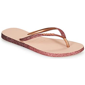 Zapatos Mujer Chanclas Havaianas SLIM SPARKLE II Rosa
