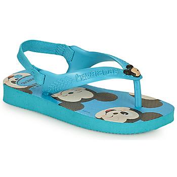 Zapatos Niño Chanclas Havaianas BABY DISNEY CLASSICS II Azul