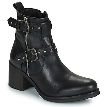 Zapatos Mujer Botas urbanas Regard UGLAS Negro