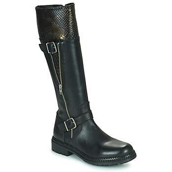 Zapatos Mujer Botas urbanas Regard CACHY Negro
